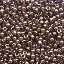 Toho 11/0 Seed Beads Gold Lustred Light Tanzanite 325 - 10 grams